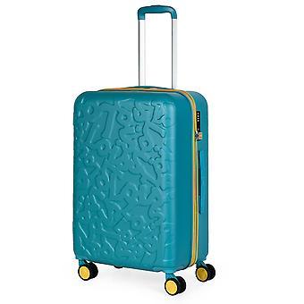 Lois Zion Trolley M, 4 wielen, 43 cm, 59 L, turquoise