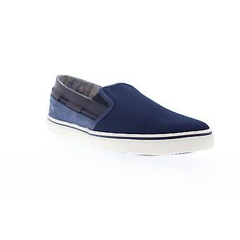 Tommy Bahama Exodus  Mens Blue Mesh Slip On Sneakers Shoes