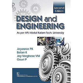 Design and Engineering by P. Jayasree - 9789387085848 Book