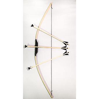 Bow Flitzebogen voor kinderen 100 cm lang met 3 pijlen