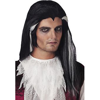 Långa Vampire Peruke för Halloween
