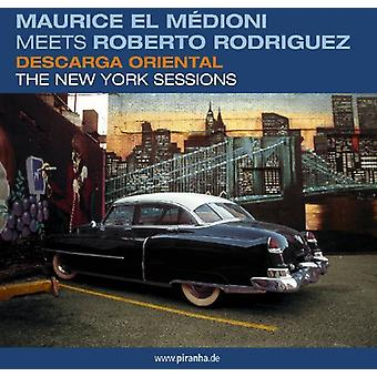Medioni/Rodriguez - Descarga Oriental-New York Sessions [CD] USA import