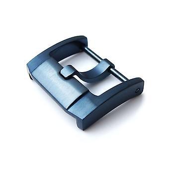 Strapcode مشاهدة مشبك 18mm الفولاذ المقاوم للصدأ 316l المسمار في مشبك iwc نمط الملكية الفكرية الانتهاء الأزرق