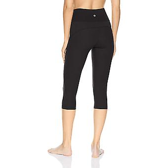 Brand - Core 10 Women's Standard Nearly Naked Yoga, Black, Size Small