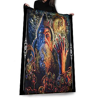Wild star - merlin's visions - fleece/throw/tapestry
