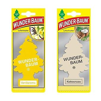 Wunder-Baum (Vanille + Kokosnuss) 2-Pack