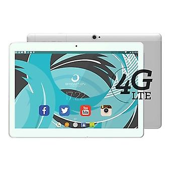 "Tablet BRIGMTON BTPC-1023OC4GB 10"" IPS Quad Core 1,5 GHz 32 GB 2 GB RAM DUAL SIM 4G 5000 mAh Wit"