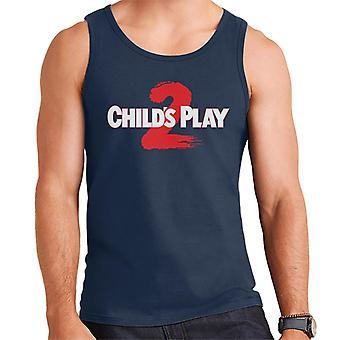 Chucky Childs Play 2 Logo Männer's Weste