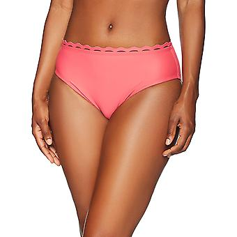 Brand - Coastal Blue Women's Swimwear Bikini Bottom, Maui Rose, S