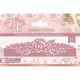 Crafter's Companion Rose Gold Elegant Roses Die