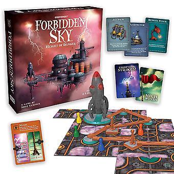 Games - Ceaco Gamewright - Forbidden Sky Height of Danger 424