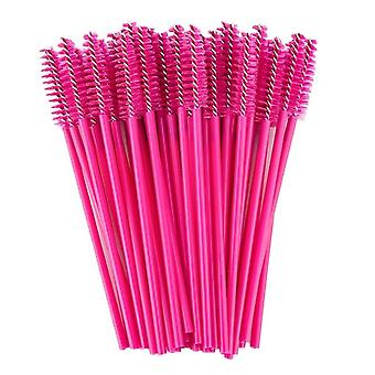 Good Quality Disposable Crystal Eyelash Makeup Brush, Diamond Handle Mascara