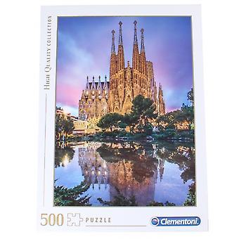 لغز -- اللعب الإبداعية Clementoni -- برشلونة 500pcs جديدة 35062