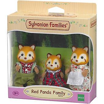 Sylvanian Perheet Punainen Panda Perhe 5215