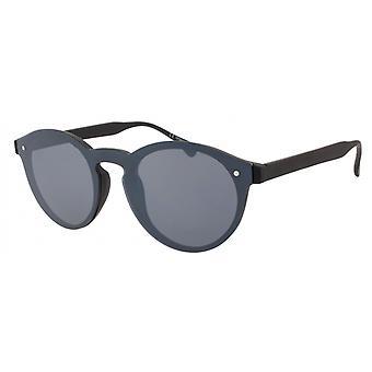 Sunglasses Unisex Cat.3 black smoke (AMU19206 A)
