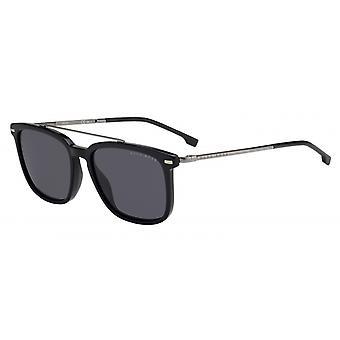 Okulary przeciwsłoneczne Mężczyźni 0930/S807/IR Męskie czarne/szare