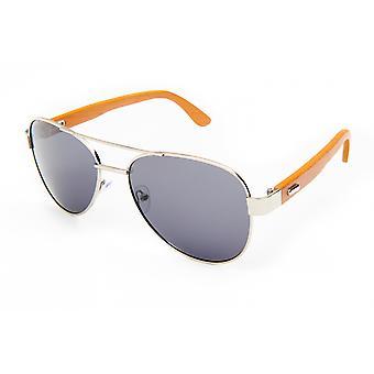 Sonnenbrille Unisex    Pilot grau/Holz (PZ20-010)