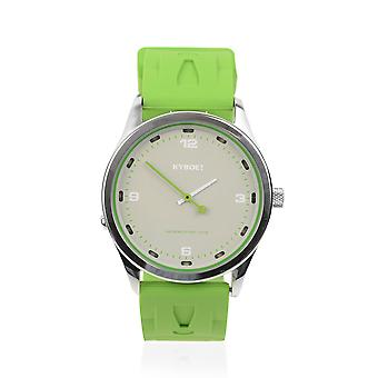KYBOE Japanese Movement 100M Water Resistant Greenery LED Watch Stainless Steel