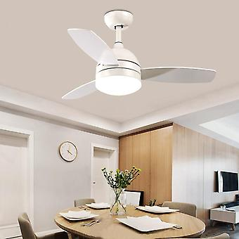 42 Inch Led Ceiling Fan With Lamp Light Remote Control For Kids Room