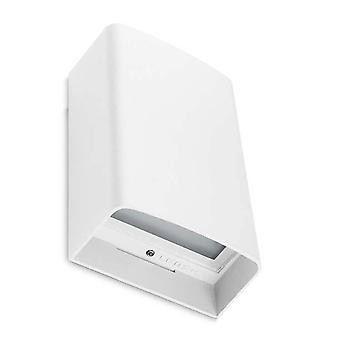 Leds-C4 Clous - Outdoor LED Up & Down Flush Wandleuchte Weiß 16cm 1027lm 3000K IP65