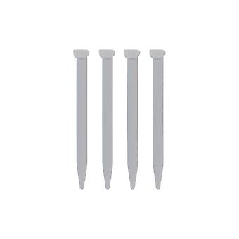 Replacement slot in touch stylus pens for nintendo 2ds xl - 4 pack white