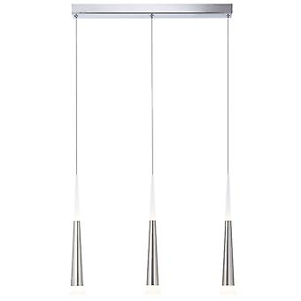 AEG Lampa Ely LED Hänge Lampa 3flg järn   3x 9W LED-integrerad (COB-chip), (900lm, 3000K)   Skala A++ till E   Kontinuerligt