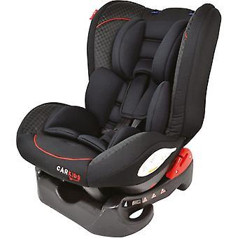 Autositzgruppe 1 schwarz/rot