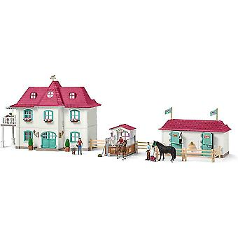 Schleich large horse stable with house and stable play set for children over 3