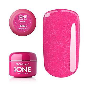 Base en - Neon - Deilig rosa 5g UV gel