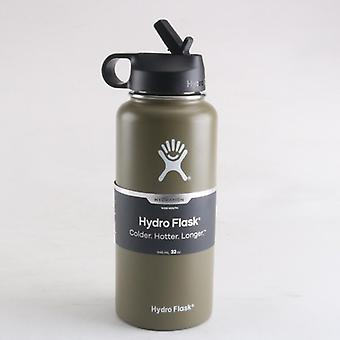 Flask 18oz/32oz/40oz Tumbler Hydrating Flask - Hydro Vacuum Insulated - Stainless Steel Water Bottle Wide Mouth Sports Bottle