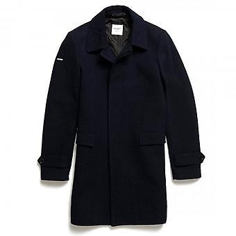 فائق الدري تحرير الصوف معطف سيارة البحرية 24S