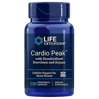 Life Extension Cardio Peak, with Standardized Hawthorn and Arjuna 120 vcaps