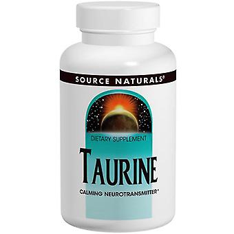 Source Naturals Taurine, 1000 mg, 240 caps