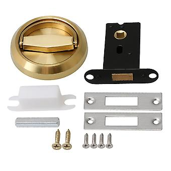 Gold 75x14mm Stainless Steel Invisible Door Lock Pull Handle