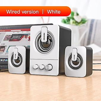 4d Mini Bluetooth Subwoofer Speaker For Laptop/ Notebook/ Pc Phone/