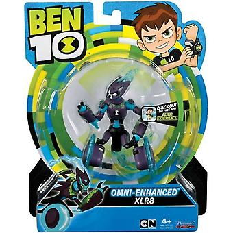 Ben 10 action figures - omni enhanced xlr8 for ages 4+