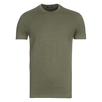 DSquared2 Soft Cotton Green T-Shirt