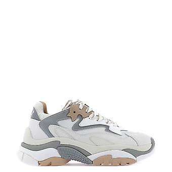 Ash Addict008 Women's White/grey Leather Sneakers