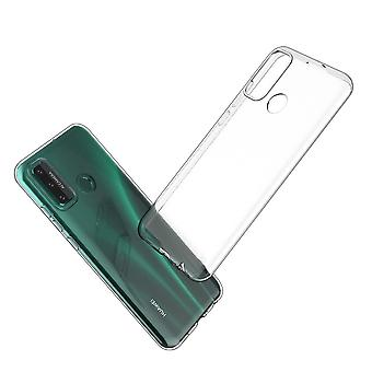 Hull For Huawei P Smart 2020, High Quality Silicone Protective Cover, Transparent