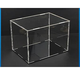 Transparent Acrylic Display Storage Case Box, Perspex For Garage Kit