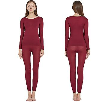 Lightweight Women Thermal Underwear,suit Ultra-thin Constant Temperature