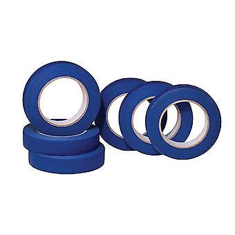 6X blå maskering tape 24mm X 50M uv motstandsdyktig malere utendørs klebemiddel