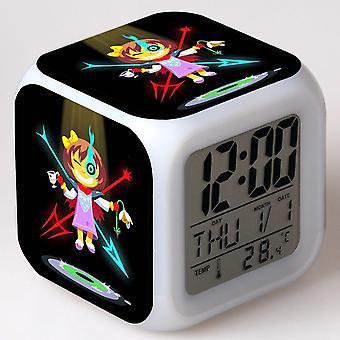 צבעוני רב תכליתי LED ילדים & apos;s שעון מעורר -מתחת #32
