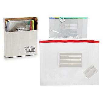 Envelopes A5 Zip (0,1 x 18 x 23 cm)