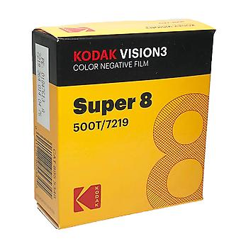 Kodak vision3 super 8mm kolor ujemna folia 500t 7219