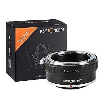 Nikon zu fuji x Adapter, k&f Konzept Objektiv-Halterung Adapter für nikon ai/f Mount-Objektiv zu fujifilm x serie