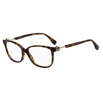 Fendi FF0346 086 Dark Havana Glasses