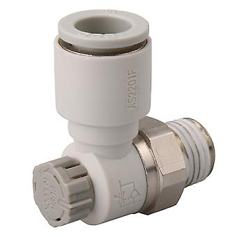 Pneumatic Air Speed Control Valve Fitting Connector 10mm AS2201F-02-10SA