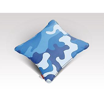 Blue camo 2 cushion/pillow