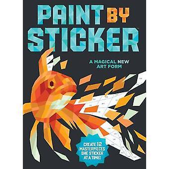 Verf door sticker maak 12 meesterwerken één sticker tegelijk